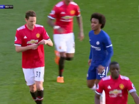 Nemanja Matic jokingly reveals what was on Jose Mourinho's note during Manchester United's win over Chelsea