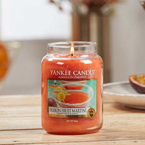 Yankee Candle is selling a passion fruit martini scented