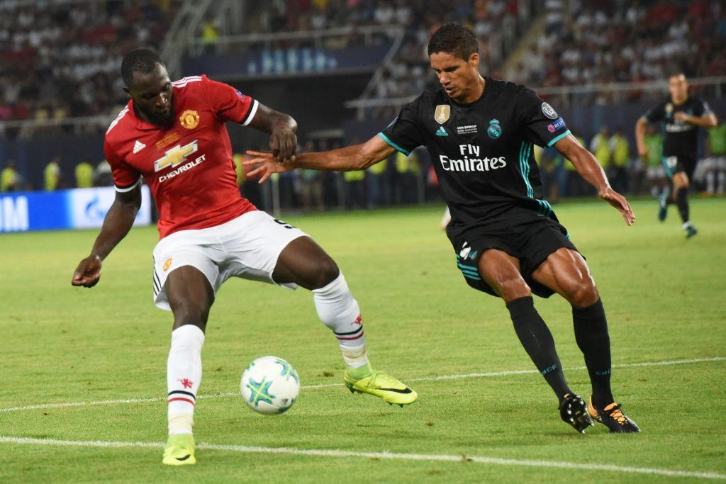 Raphael Varane says Manchester United's Romelu Lukaku is the strongest striker in the world
