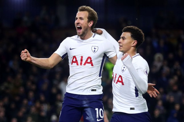 a3d1953b3 Arsene Wenger believes Harry Kane and Dele Alli are England s danger men  (Picture  Getty)