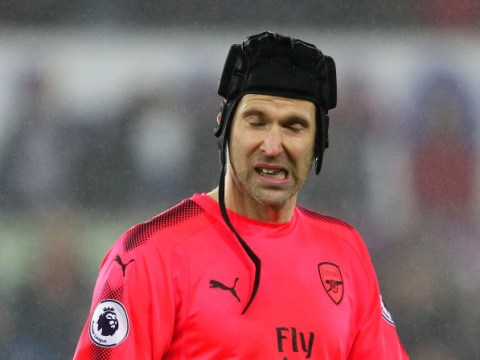 Petr Cech apologises for his role in Arsenal's shock defeat to Brighton