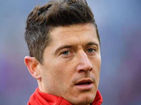 Robert Lewandowski clashes with Mats Hummels amid Chelsea and Manchester United transfer links
