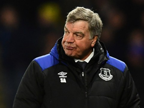 Sam Allardyce calls out 'minority' of Everton fans on social media who are clamouring for him to be sacked