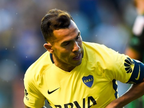 Carlos Tevez injured in prison kickabout while visiting convict brother