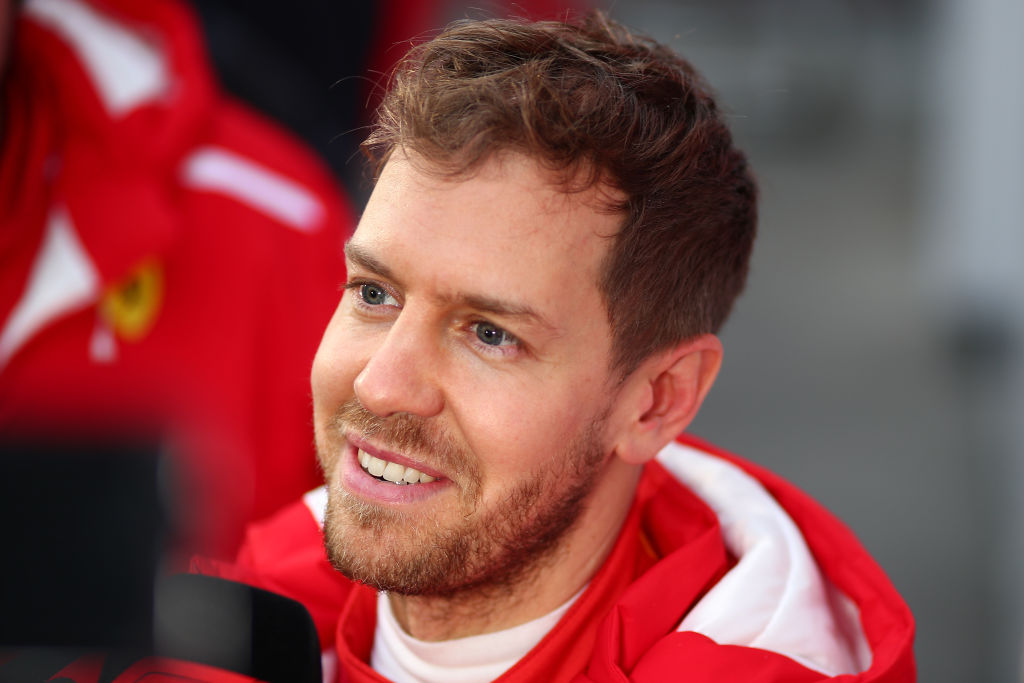 Sebastian Vettel says Lewis Hamilton and Mercedes are favourites to win 2018 Formula One titles
