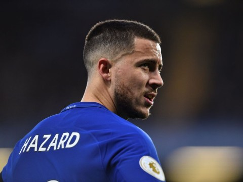 Antonio Conte hints at a different role for Eden Hazard against Barcelona