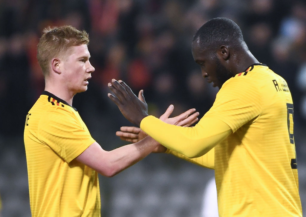 Romelu Lukaku scores twice and provides assist in Belgium's 4-0 drubbing against Saudi Arabia