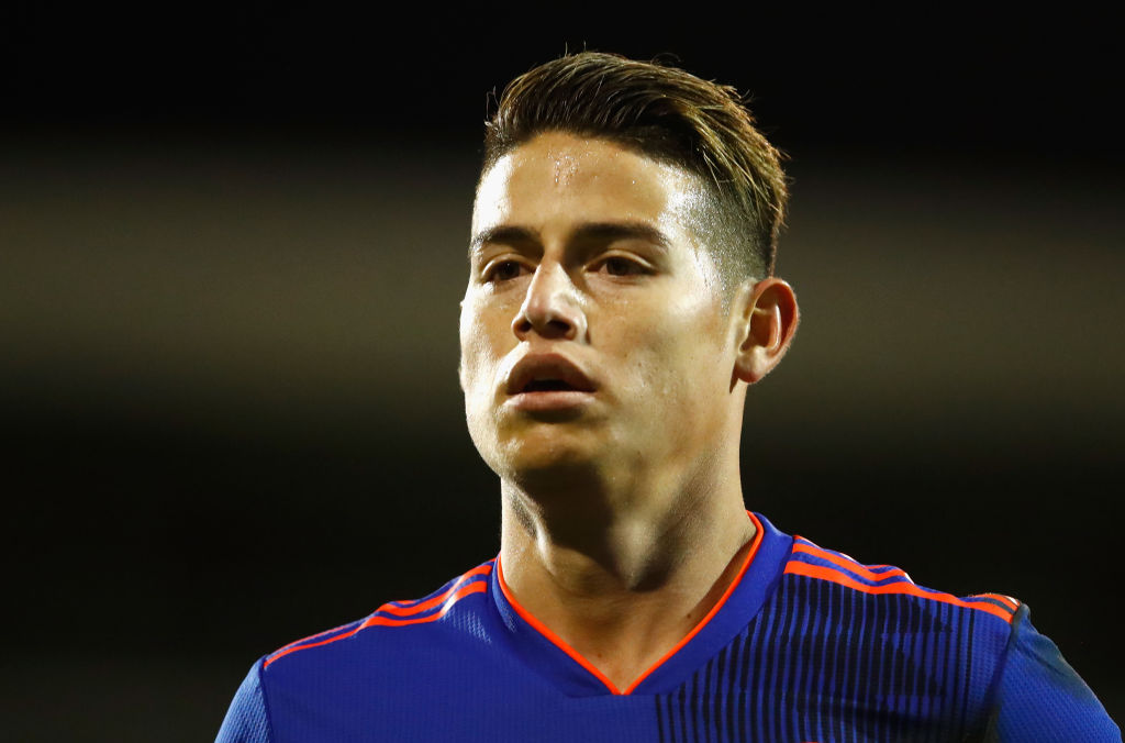 Long-term Chelsea and Manchester United transfer target James Rodriguez would prefer Bayern Munich stay