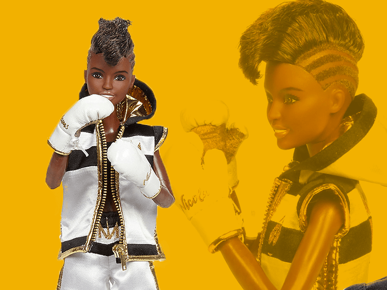 Nicola Adams is celebrating International Women's Day with her own Shero Barbie