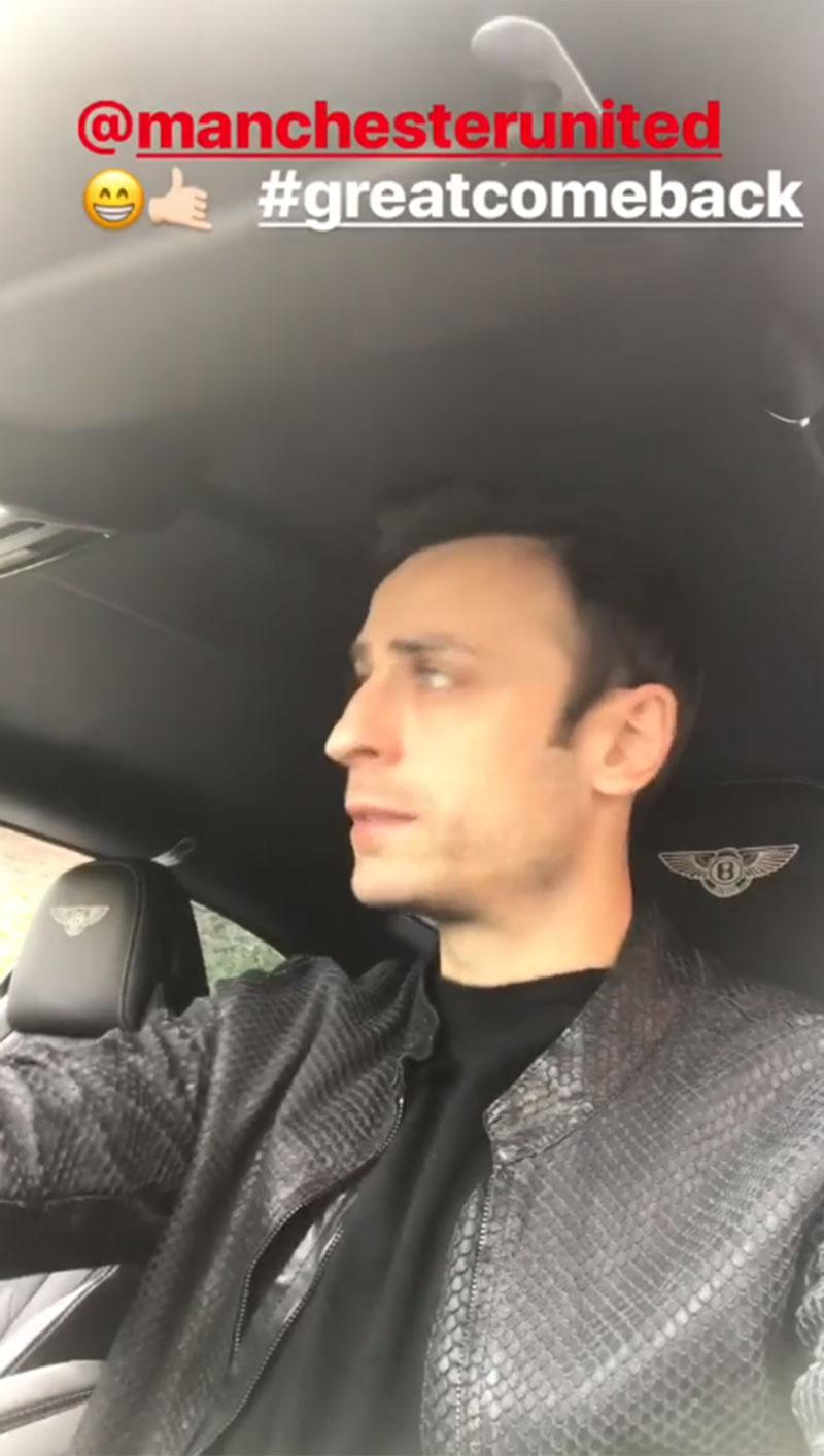 Dimitar Berbatov hails Nemanja Matic and David De Gea after Manchester United comeback
