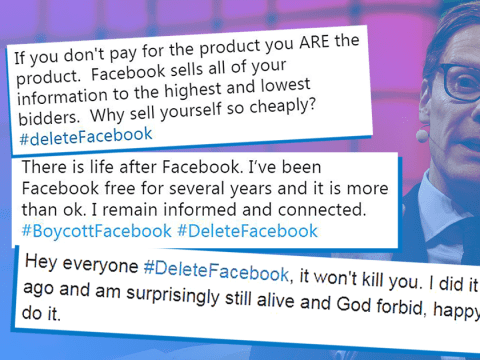 #DeleteFacebook movement grows following 'data leak' of 50 million users