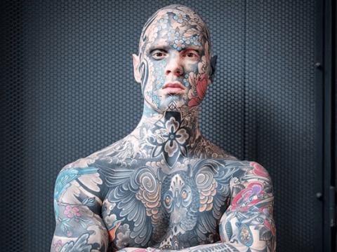 Meet the full-bodied tattooed teacher breaking the mold
