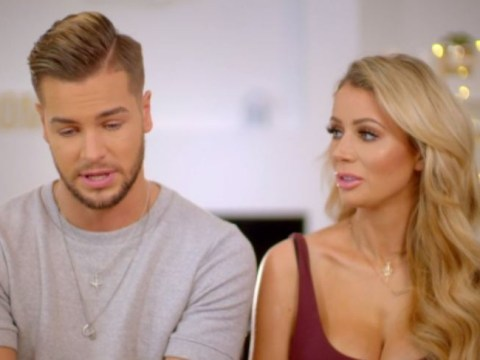 Chris Hughes and Olivia Attwood argue over sofa cushions in new Crackin' On teaser