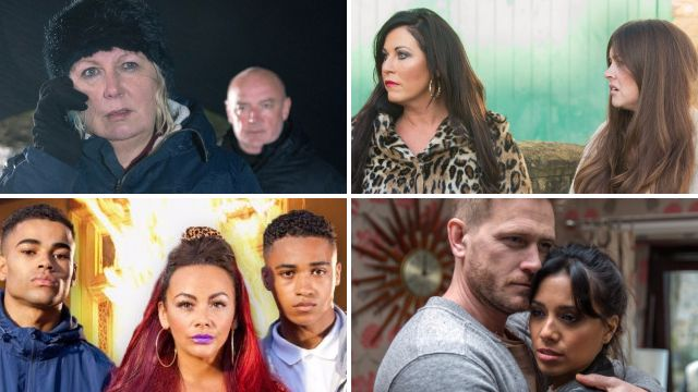 Soap spoilers for Phelan and Eileen in Coronation Street, Stacey and Kat in EastEnders, Goldie and Prince in Hollyoaks and Priya and David in Emmerdale