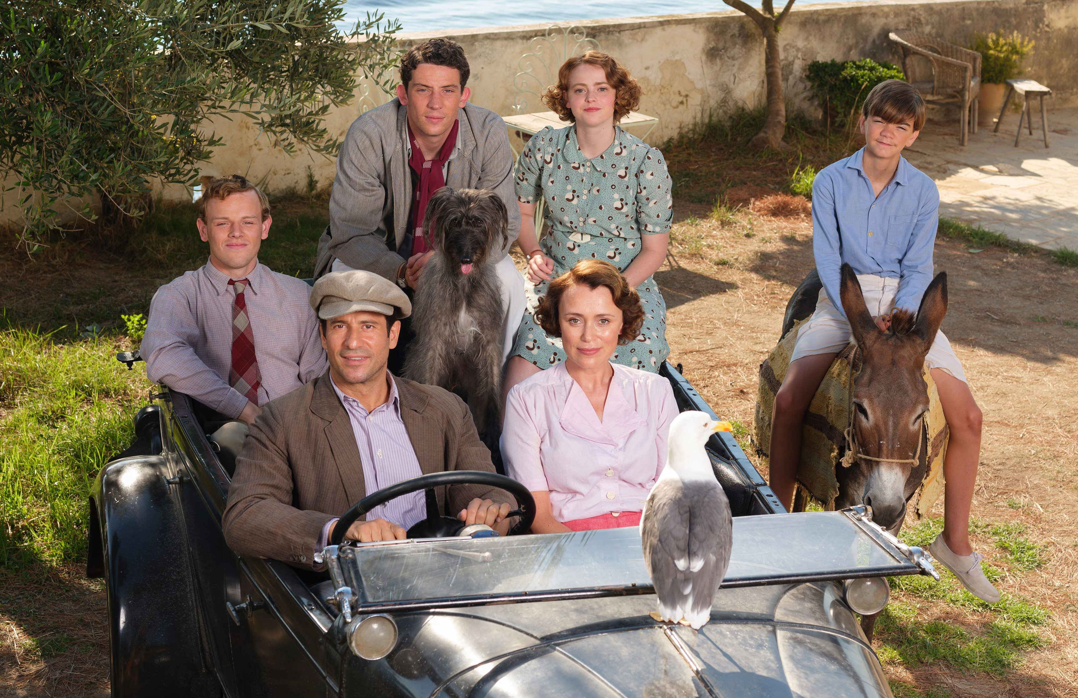 The Durrells writer calls for less 'murder, rape and pillage' on TV