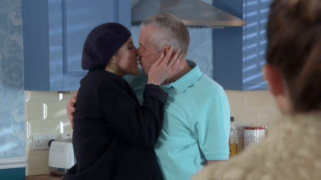 Jack and Darcy kiss in Hollyoaks
