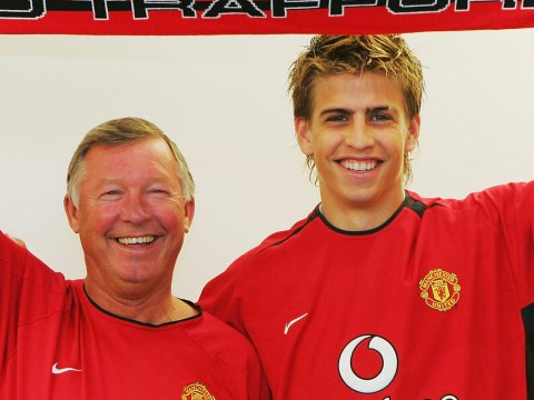 Gerard Pique reveals the moment he lost Sir Alex Ferguson's trust at Manchester United