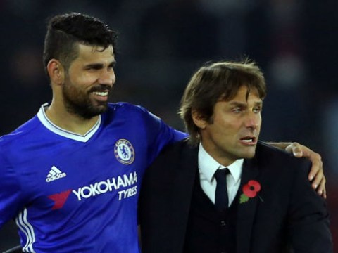 Diego Costa aims dig at Antonio Conte during Chelsea's Champions League clash with Barcelona