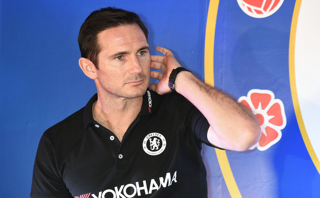 John Terry and Frank Lampard make appearance at Chelsea training ground