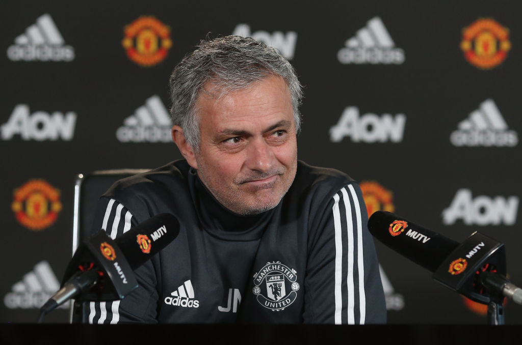Jose Mourinho cuts four Manchester United players from matchday squad for Manchester City clash