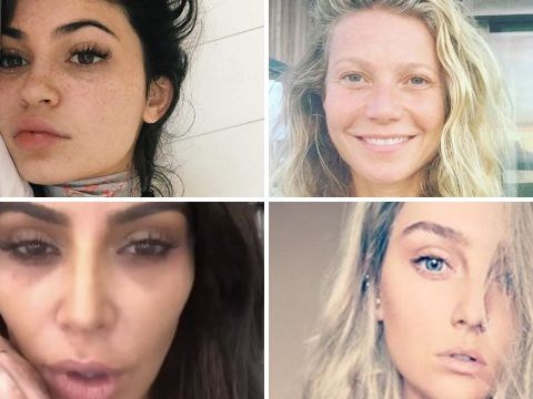 As Christina Aguilera ditches the makeup, here are the hordes of celebs inspiring us to go makeup free