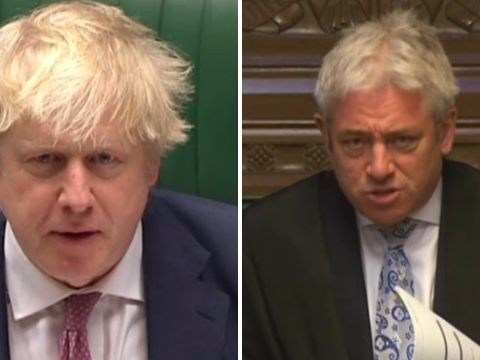 Boris Johnson gets a severe telling off from Speaker John Bercow over 'sexist' comments