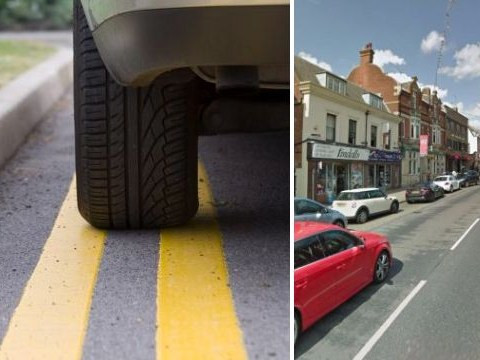 Drivers have been parking on double yellow lines without getting a ticket