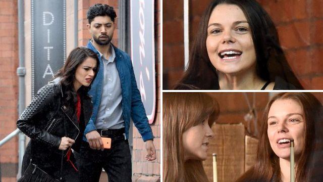 Zeedan argues with Kate and Rana in Coronation Street