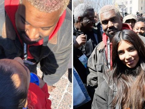 Kim Kardashian shares sweet family photo of North and Kanye West at March For Our Lives