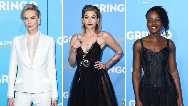 Paris Jackson shines at premiere of big screen debut Gringo alongside Charlize Theron