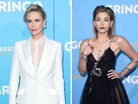 Paris Jackson shines at premiere of big screen debut Gringo alongside Charlize Theron