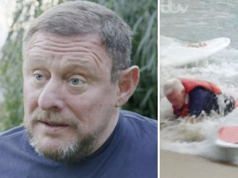 Shaun Ryder helps rescue Roy Walker from drowning on 100 Years Younger