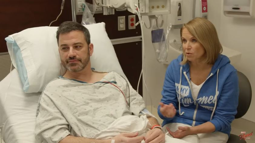 Watch Jimmy Kimmel get his first colonoscopy with Katie Couric: 'Where no camera has gone before'