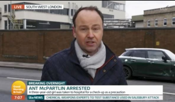 Piers Morgan steps in as Good Morning Britain presenter forgets Declan Donnelly's name amid Ant McPartlin arrest