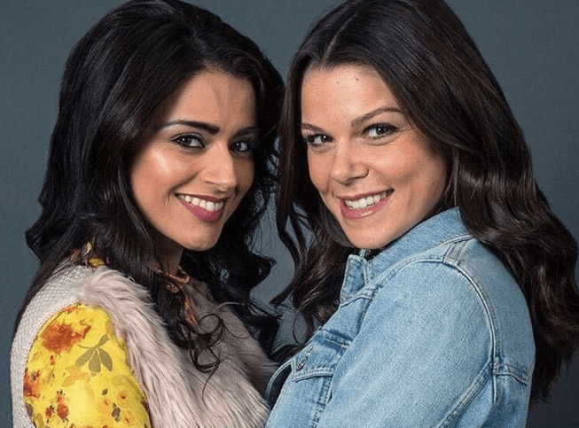 Kate and Rana in Coronation Street
