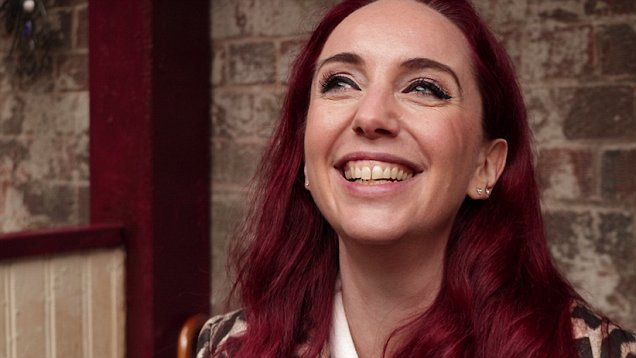 Kate Oates is the boss of Coronation Street