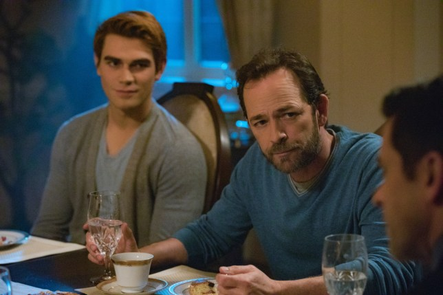 Luke Perry, KJ Apa
