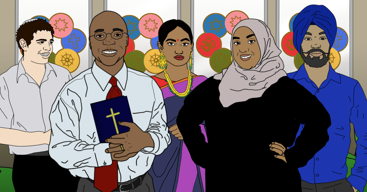ILLUSTRATION REQUEST: How some Faith communities battle mental health stigma (Eleanor)
