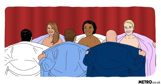 Naked speed dating Metro Illustration Picture: Dave Anderson
