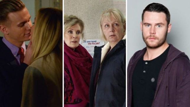 Coronation Street and EastEnders spoilers for Louise, Hunter, Eileen and Aaron