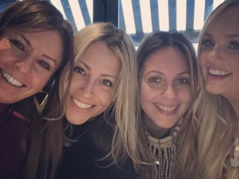 Nicole Appleton enjoys girlie lunch date with Emma Bunton amid Paddy McGuinness drama