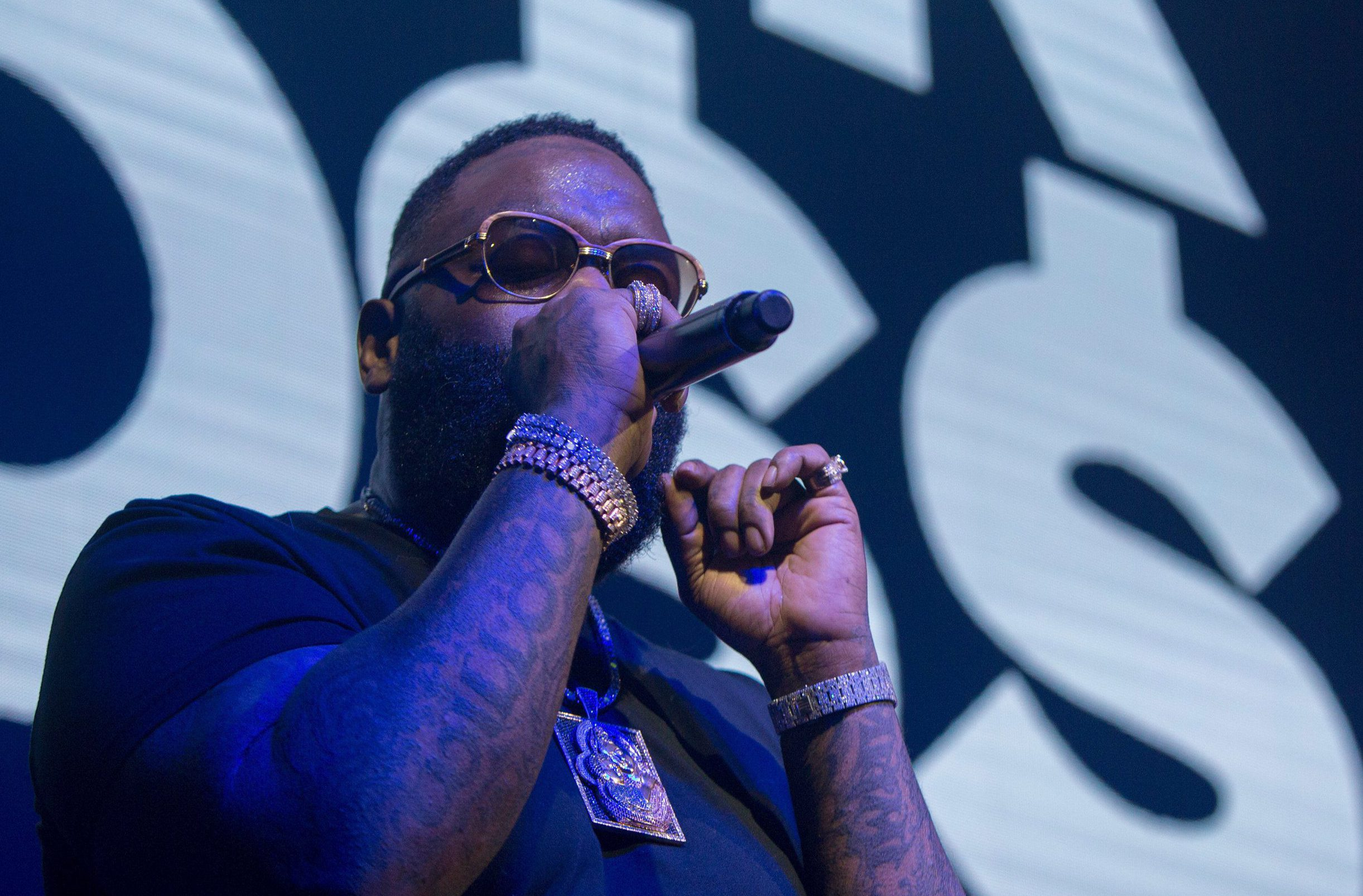 Fat Trel denies Rick Ross is on life support, says rapper is 'all good' following hospitalisation
