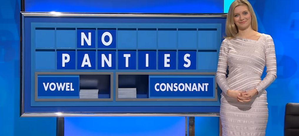 Rachel Riley laughs off naughty 'No panties' mishap on Countdown