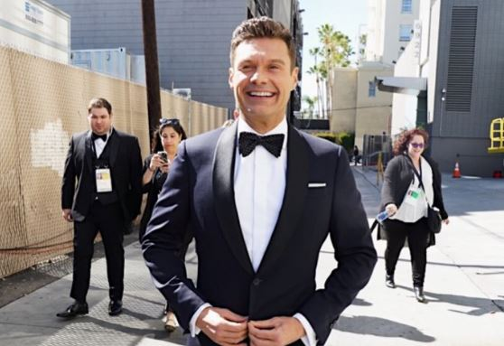 Ryan Seacrest is ready for 'showtime' as he hosts Oscars red carpet despite opposition