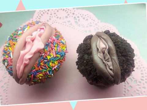 Fancy licking the icing off these vulva cupcakes?