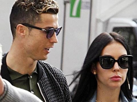 Cristiano Ronaldo and girlfriend Georgina splash out on designer shopping spree