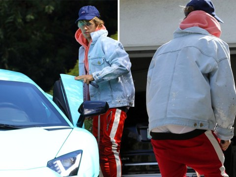 'Super cool' Justin Bieber kicks off 24th birthday with his trousers half way down