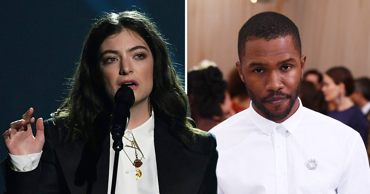 Lorde's cover of Frank Ocean will soothe your freezing soul