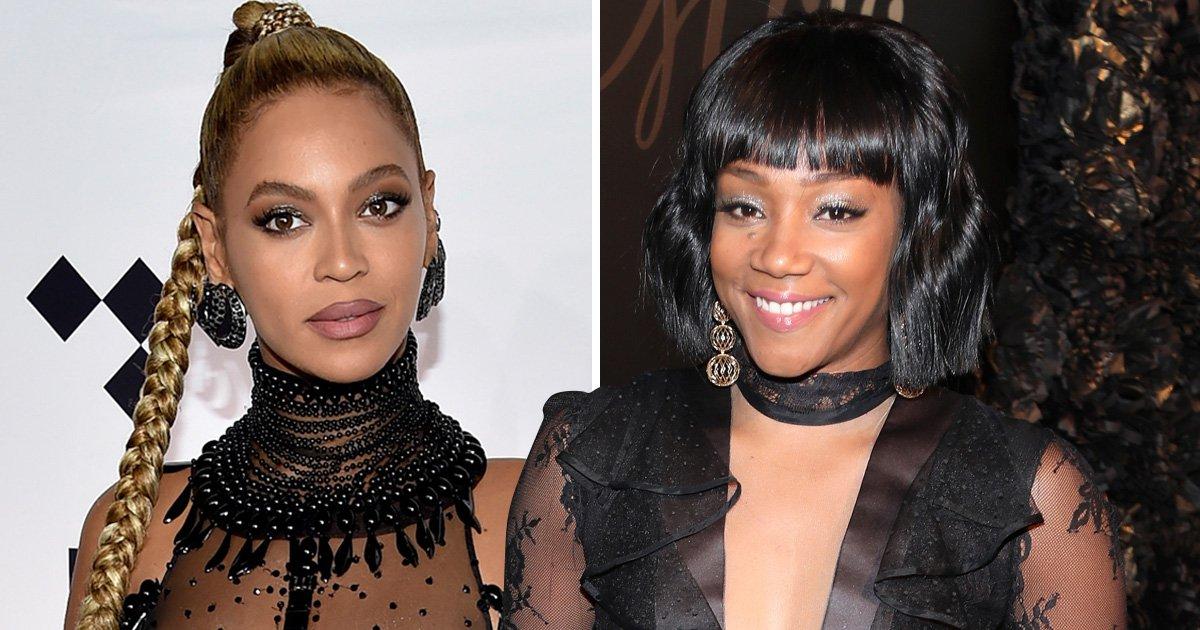 Tiffany Haddish won't reveal who bit Beyonce 'because she signed an NDA'