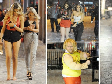 Clubbers in Newcastle still aren't wearing coats despite freezing temperatures